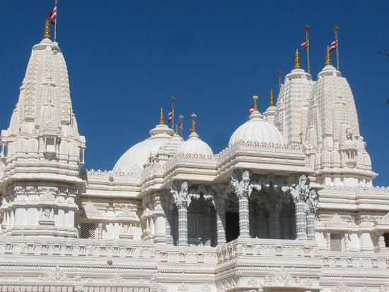 BAPS Shri Swaminarayan Mandir: even the roof is amazing