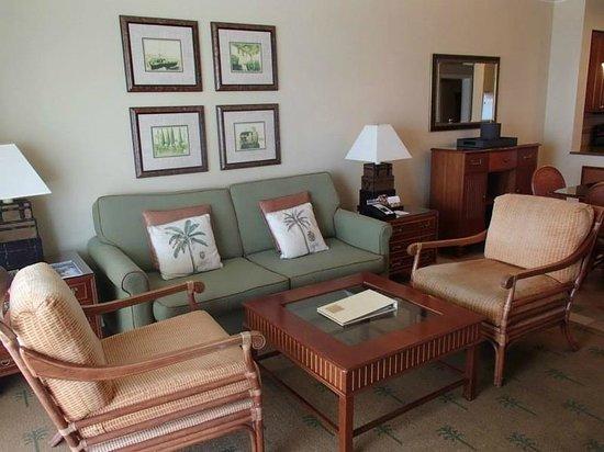 Hyatt Windward Pointe: Sitting area