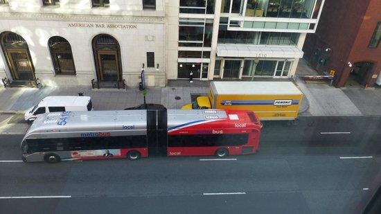 Sofitel Washington DC: View - not worth paying extra for
