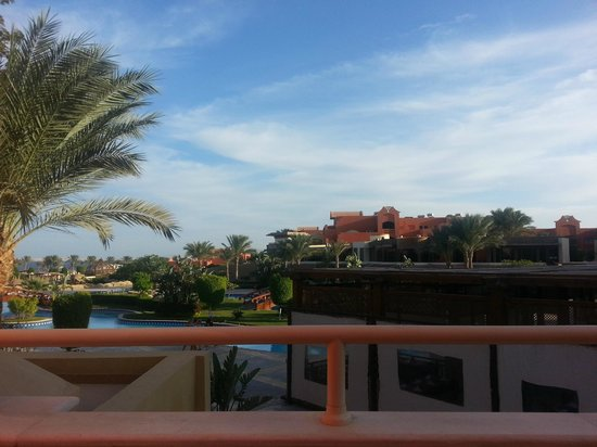 Sharm Grand Plaza: View from our balcony