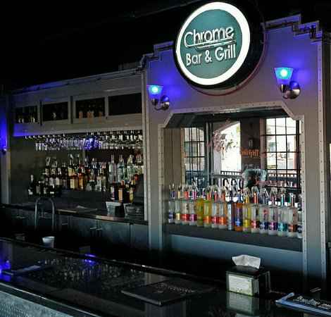 Chrome Bar & Grill: 2nd floor