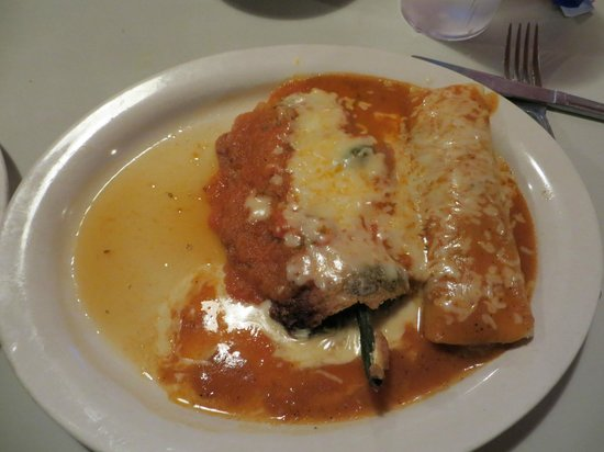 Los Cabos Mexico: Chili Rellenos and Enchilida