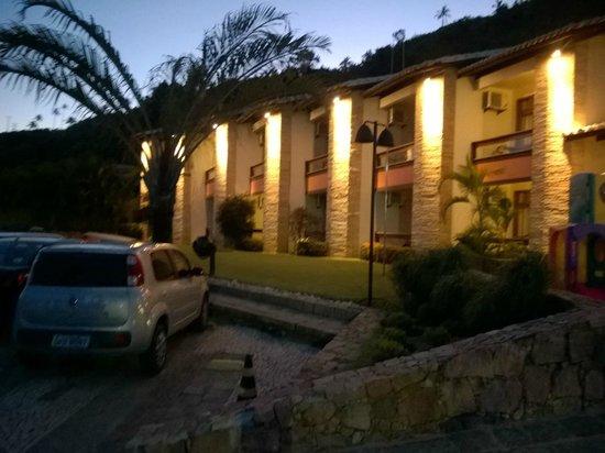 Quinta do Sol Praia Hotel: Fachada do hotel