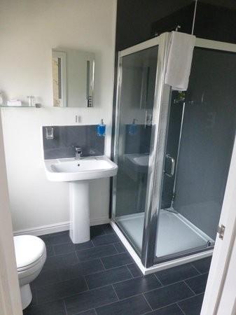 Overcliff Lodge: modern ensuite