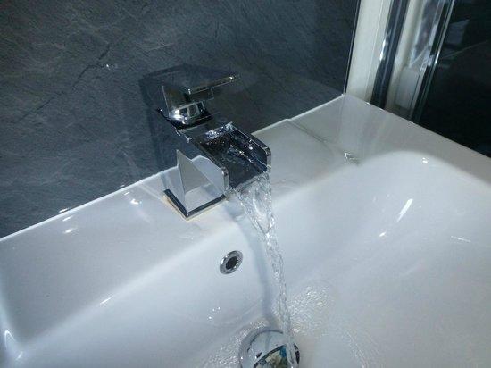 Overcliff Lodge: fancy waterfall tap