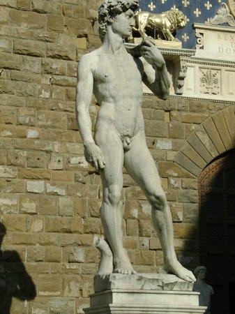 Galería de la Academia: la celebre statua del David