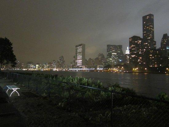 Manhattan Skyline : Roosevelt Island Night