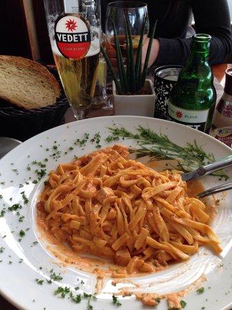 Milord: Tagliatelli - dello chef = verrukkelijk