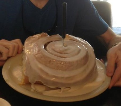 Best Cinnamon Roll Picture Of Lulu S Bakery And Cafe
