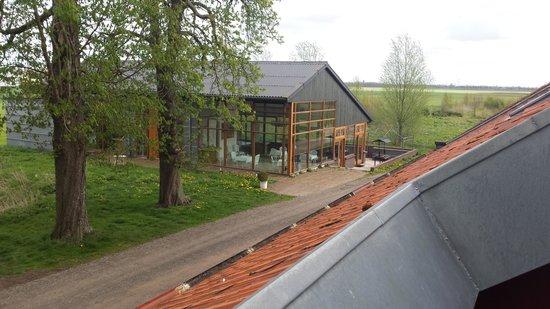 Landgoed Westerlee: zicht vanuit kamer