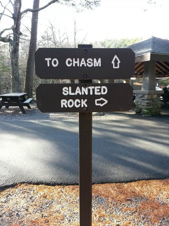 Purgatory Chasm State Reservation: sign