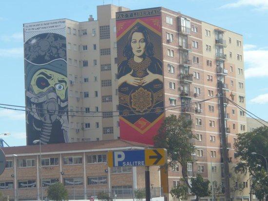 Alcazaba: Local apartments