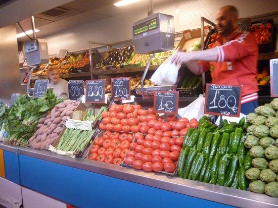 Alcazaba (fort) : Vegetable Market