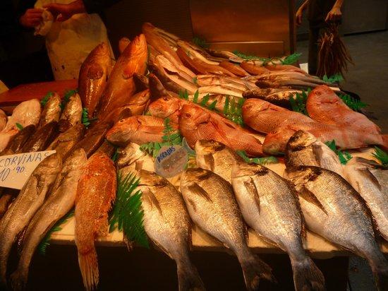 Alcazaba (fort) : Fish market