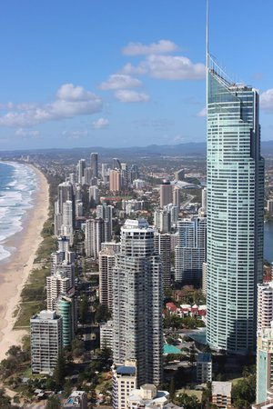 Peppers Soul Surfers Paradise : View from the apartment