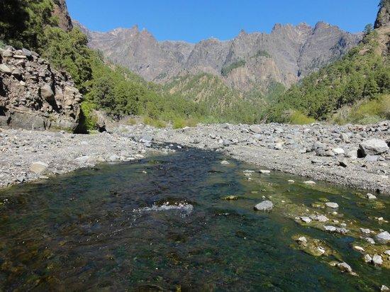 Caldera de Taburiente National Park: Blick zum Roque de los Muchachos