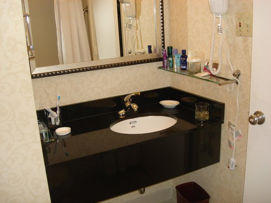 Crowne Plaza Washington National Airport: Small but CLEAN/ Great water pressure