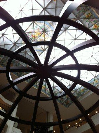 Roda Al Bustan: The roof