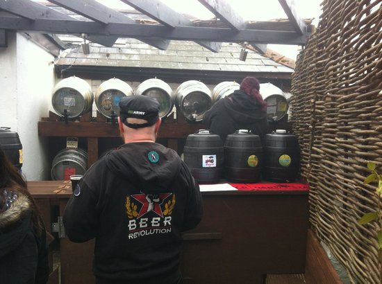 The Rockstone: The world famous Stig checks out the festival beers