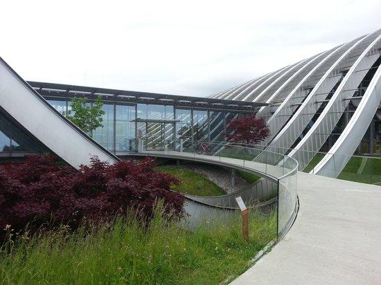 Zentrum Paul Klee (Paul Klee Center): the entry
