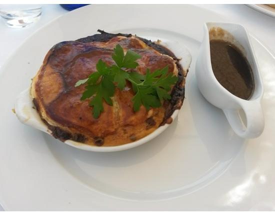 Kokomo : steak and ale pie