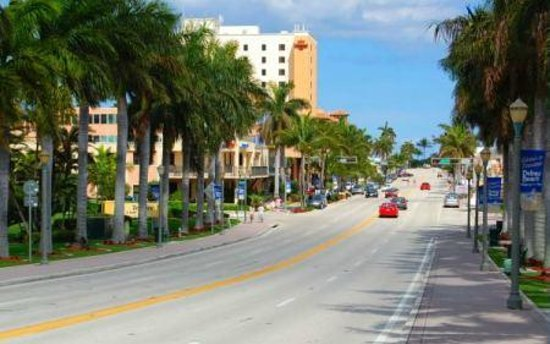 Beautiful Atlantic Avenue Delray Beach Florida Picture Of