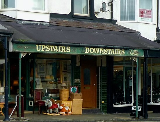 Deganwy, UK: Upstairs Downstairs, Wrexham