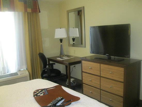 Hampton Inn & Suites Fort Myers Beach / Sanibel Gateway : Bedroom