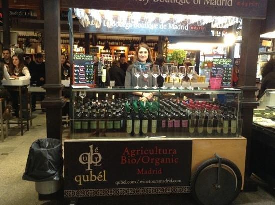Mercado San Miguel: Vinos orgánicos