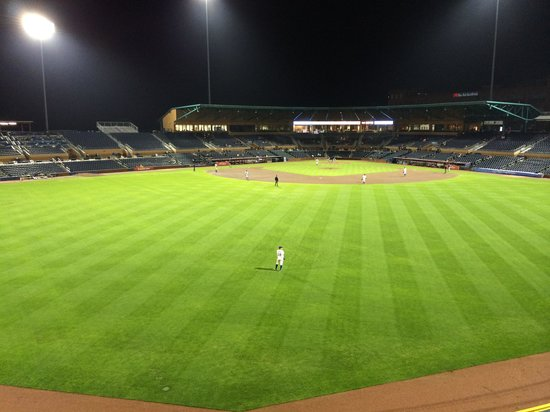 Durham Bulls Athletic Park: Take me out to the ball game