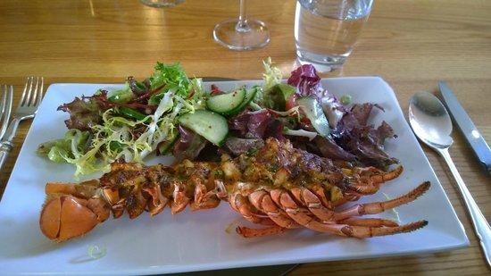 Restaurant at the Bull at Burford Hotel: Lobster