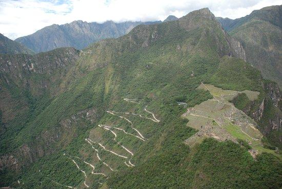 Huayna Picchu : The Winding Road to Machu Picchu