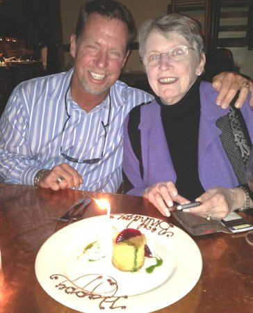 Fore Street: birthday dinner with mom