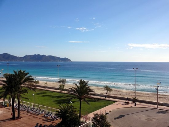 Hipotels Dunas Cala Millor: View from room