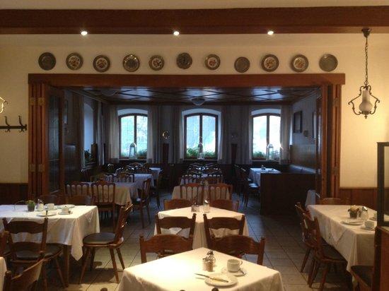 Gasthof zur Post: Stanza della colazione