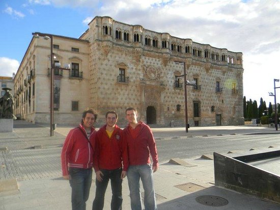 Palacio del Infantado: As a host, taking two friends of Madrid to see the Palace.