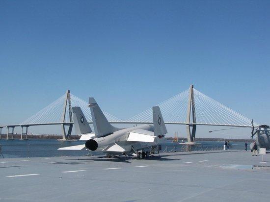 Patriots Point Naval & Maritime Museum: Latter 20th century jet