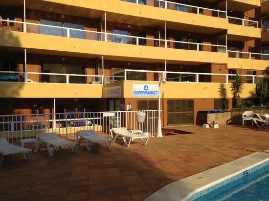On Site Supermarket Picture Of Portofino Apartments Santa Ponsa