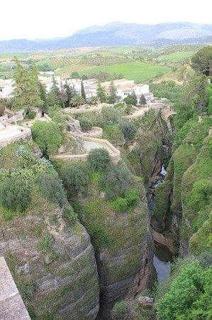 El Tajo: Ущелье