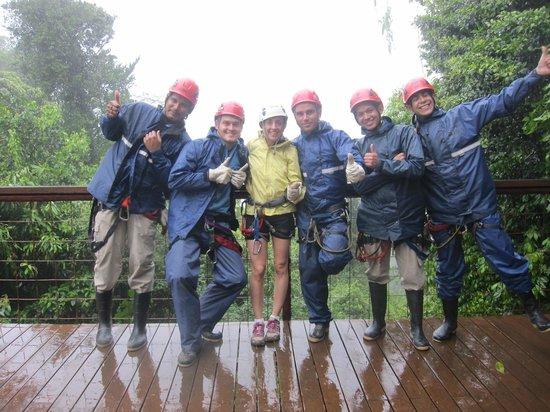 Desafio Adventure Company: Zip Lines instructors