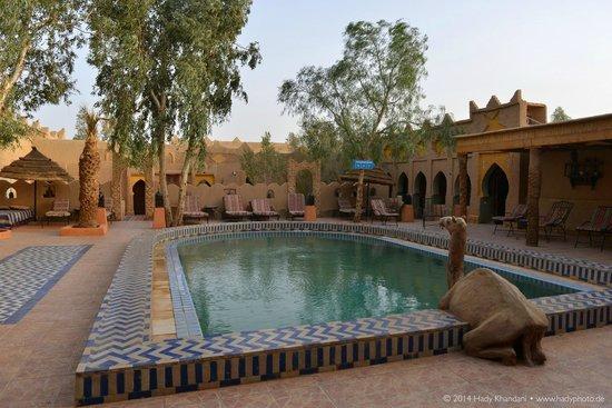 Hotel Kasbah Mohayut : Pool