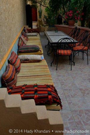 Hotel Kasbah Mohayut : Terrasse