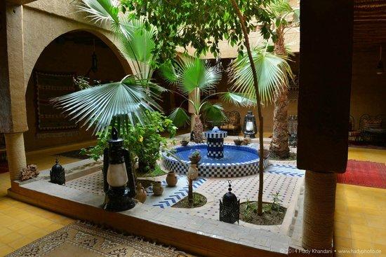 Hotel Kasbah Mohayut : Einer der Innenhöfe