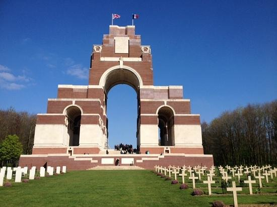 Thiepval Memorial: a must see, at the going down of the sun and in the morning, we WILL remember them x