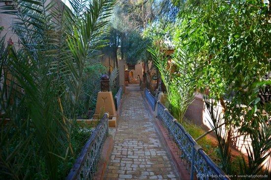 Hotel Kasbah Mohayut : Innenhof / Garten