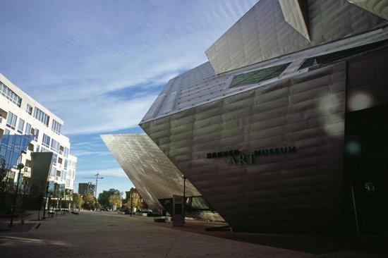 Denver Art Museum : Entry & Plaza