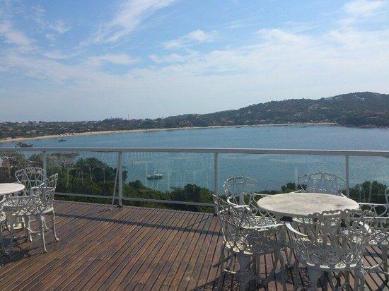 Unicornio & SPA BY MN Hotéis: Vista do deck