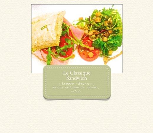 Graines de Chef: Le Classique sandwich Jambon-Beurre. Parmi d'autres bons sandwichs proposés...