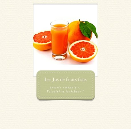Graines de Chef: Les Jus de fruits frais, pressés minute. Vitalité et fraîcheur !