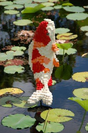 Naples Botanical Garden : Lego Koi